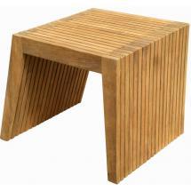 Teakový odkládací stolek WELLS, 47x47 cm