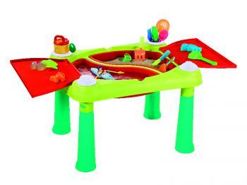 Dětský plastový stoleček na hraní SAND & WATER ROJAPLAST Produkt 223684