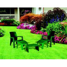 Zahradní souprava LAGO MAXI RELAX SET BOX, zelený
