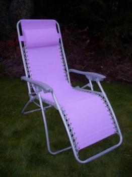 Zahradní a campingové křeslo AN2320, fialové ROJAPLAST 605/6