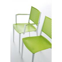 Židle NAPOLI, područky, plast