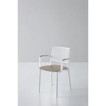 Židle NAPOLI, bez područek, čalouněná