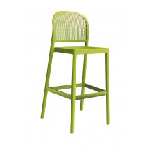 Barová židle PARANA NAB, plast, kovová konstrukce