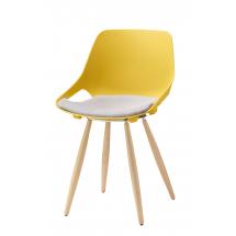 Židle QUIDO W, plast, buk
