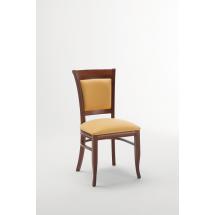 Židle TRUDY F, bez područek, čalouněná, buk