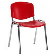 Jednací židle IMPERIA, plastová, chrom