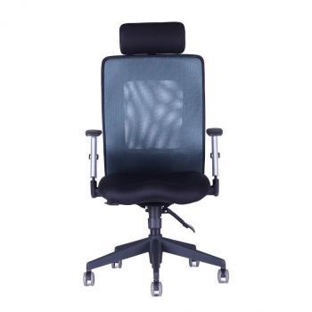Kancelářská židle CALYPSO XL SP4, černý sedák HOBIS