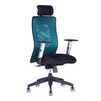 Kancelářská židle CALYPSO XL (černý sedák) HOBIS