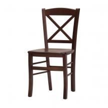 Jídelní a kuchyňská židle CROSS, masiv