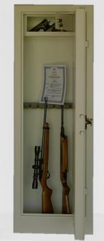 TREZOROVÁ SKŘÍŇ WSA 9(trezor na zbraně) na 9 dlouhých zbraní WICO 337