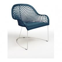 Židle GUAPA AT bílá konstrukce, kůže