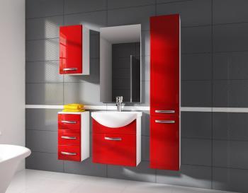 Koupelnová sestava CORAL červená CASARREDO STR-KOR-SET-CERV