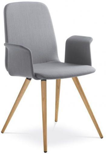 Jedenací a konferenční židle SUNRISE, 152/BR-D, područky LD SEATING 152/BR-D