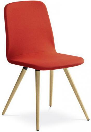 Jednací a konferenční židle SUNRISE, 152-D, dubové nohy LD SEATING 152-D