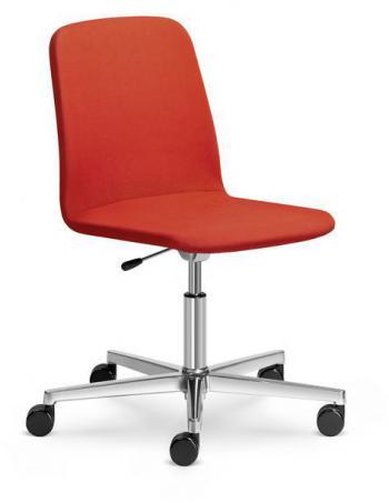 Kancelářská židle SUNRISE, 152-F37, leštěný hliník LD SEATING 152-F37
