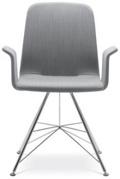 Jedenací a konferenční židle SUNRISE, 152/BR-DE, područky LD SEATING 152/BR-DE