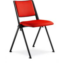 Jednací židle konferenční GO! 112-N1, černá  konstrukce