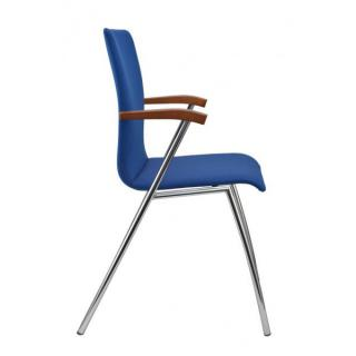 Jednací a konferenční židle IBIS, područky, čalouněná