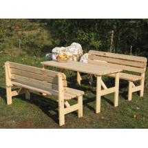 Zahradní stůl VIKING - FSC, přírodní, 180x70x68cm