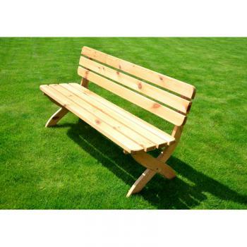 Zahradní lavice STRONG - FSC ROJAPLAST 281/1