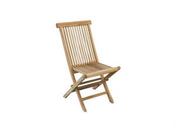 Zahradní teaková židle MILÁN Zahradní nábytek s.r.o. CTM010506-01