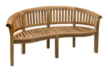 Teaková zahradní lavice OMEGA 152 cm Zahradní nábytek s.r.o. CTM040506-03