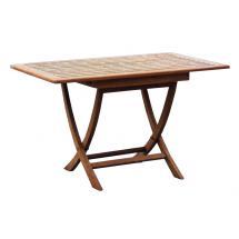 Zahradní teakový stůl SMART, 120x80 cm