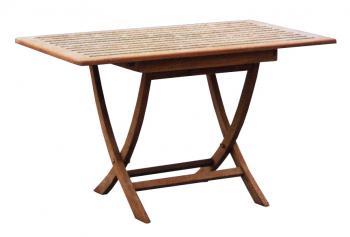 Zahradní teakový stůl SMART, 120x80 cm Zahradní nábytek s.r.o. CTM020506-19