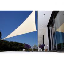 Zahradní trojúhelníková sluneční clona DARWIN, 5x5x5m