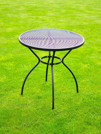 Zahradní kovový stůl ZWMT-06, ø 70 ROJAPLAST 609/6