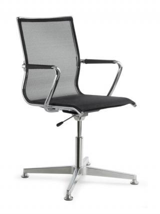 Jednací židle konferenční  PLUTO 631 F34-N6