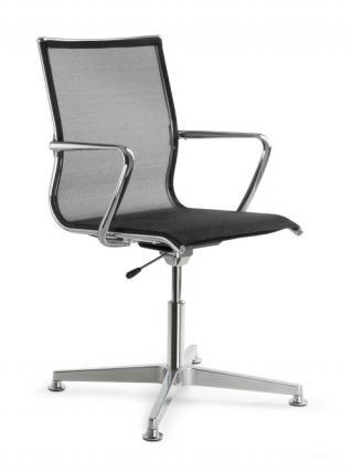 Jednací židle konferenční židle PLUTO 630 F34-N6