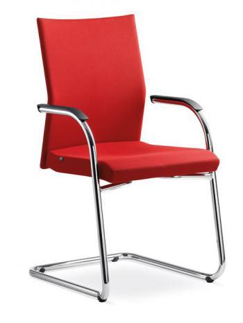 Jednací a konferenční židle WEB, 410-KZM-N4 LD SEATING 410-KZM-N4