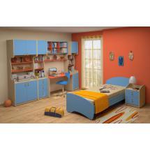 Dětský nábytek MIA - sestava č.5 modrá