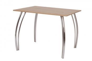 Jídelní stůl DAKO II.,chrom.nohy 80x100 Bradop S146