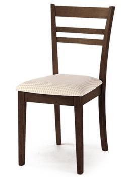 židle barva ořech,potah světlý R.L.P. AUC-343 WAL