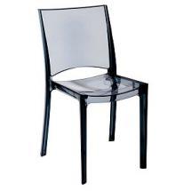 Plastová židle B-SIDE, bez područek