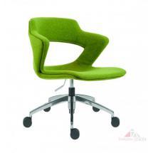 Kancelářské židle 2160 TC AOKI ALU, celočalouněná