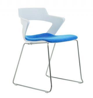 Kancelářské židle 2160/S TC AOKI, čalouněný sedák