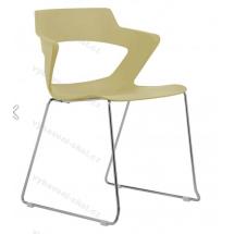 Jidnací a kancelářská židle 2160/S PC AOKI, plastová