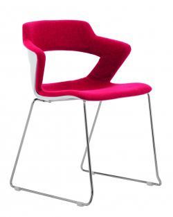 Kancelářské židle 2160/S TC AOKI, čalouněný sedák a opěrák