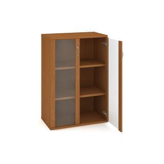 Kancelářská policová skříň STRONG, S 3 80 04, 80x115,2x40cm
