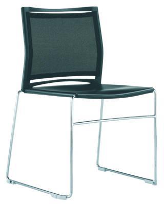 Mesh židle s chromovým rámem WEB (WB950.010)