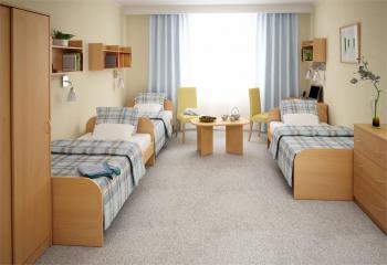 Sestava 52 - hotelový nábytek CAPRI LENZA