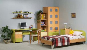 Dětský nábytek NEXT - sestava č.9 LENZA