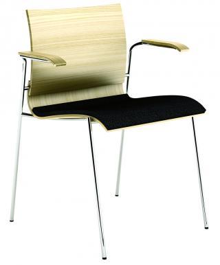 Čalouněná židle s područkami LETTY (LT 167)