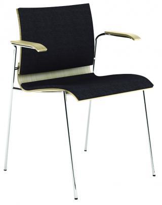 Čalouněná židle s područkami LETTY (LT 168)