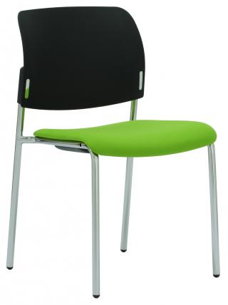 Čalouněná židle s područkami RONDO (RO 942)