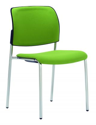 Čalouněná židle s područkami RONDO (RO 943)