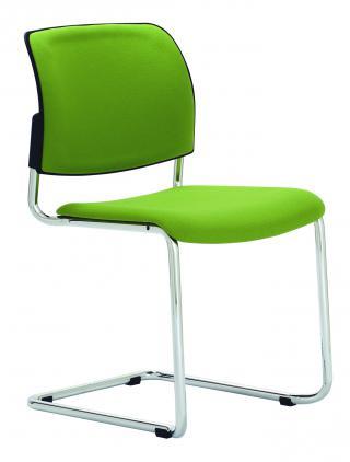 Čalouněná židle s područkami RONDO (RO 953)